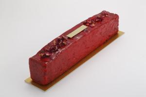 Cake fraise a la rose